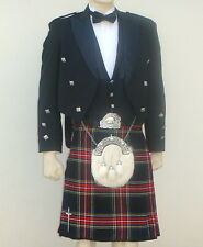 8pcs | Scottish Prince Charlie Jacket, Vest & Kilt outfit set | PCJK8 | Geoffrey