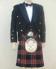 8pcs | Scottish Prince Charlie Jacket, Vest & Kilt outfit set | PCJK8 | Geoffrey