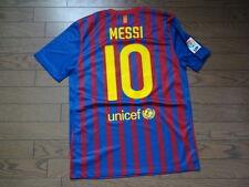 Barcelona #10 Messi 100% Original Jersey Shirt M 2011/12 Home MINT