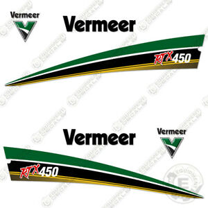 Vermeer RTX 450 Trencher Decal Kit (RTX450) - 7 YEAR VINYL