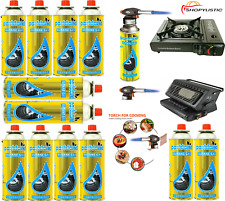 More details for butane gas bottles canisters for portable stoves cookers grill heaters weed wand