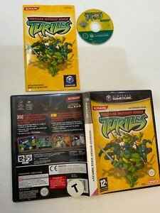 TEENAGE MUTANT NINJA TURTLES, NINTENDO GAMECUBE GAME DISC