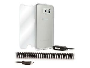 Griffin Samsung Galaxy S6 Kit Case & Screen Protector & 2.1 Amp Fast Car Charger