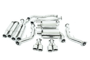 """STAINLESS HOLDEN COMMODORE VE / VF SS UTE L77 L76 L98 TWIN 3"""" CATBACK EXHAUST"""
