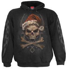 SPIRAL DIRECT ROCK SANTA Hoody/SANTA/Goth/Skull/Reaper/Rock/Sweatshirt/Top