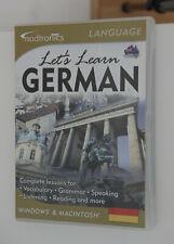 Nodtronics Let's Learn German Language Course Windows & Mac