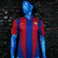 Barcelona Jersey Home football shirt 2002 - 2003 Nike Trikot Barca Mens Size S