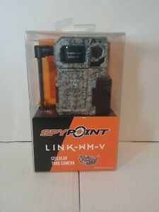Spypoint 8MP 4G Cellular Trail Camera w/ Multi-Shot Mode LINK-WM-V Camera SEALED