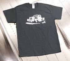Plymouth Air Radial Truck Black Graphic T-Shirt