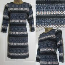 Wallis Thigh-Length Scoop Neck 3/4 Sleeve Dresses for Women