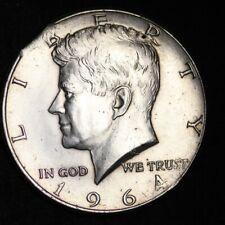 1964 CLIP ERROR Kennedy Half Dollar CHOICE FREE SHIPPING E349 AL