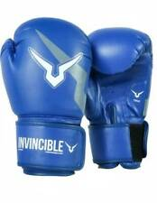 HQ New Invincible Training Gloves Boxing Gloves, Size- Small (Blue)