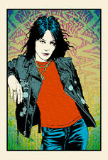Joan Jett Poster by Chuck Sperry Rock & Roll Hall of Fame Commemorative Edition
