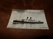 Real photo Postcard- Steam boat / Ferry - Zeeland Steamship company -Micklenburg