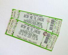 ANTONY AND THE JOHNSONS MEMORABILIA - Mint Unused Tickets/Stubs London 06/12/05