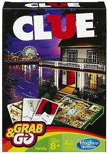 Hasbo Cluedo Travel Grab & Go Version Classic Retro Family Game Toy NEW BOXED