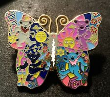 dab Dabbing pin grateful dead butterfly dancing bears 2 inch