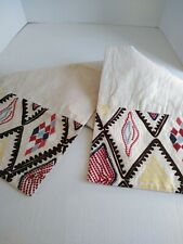 68' long Table Runner  Embroidered Tablecloth Vintage Decoration
