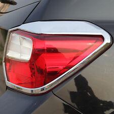 New ABS Chrome Rear Light Cover Trim For Subaru XV Crosstrek 2013 2014 2015 2016