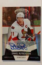 2010 Panini Certified Hockey Daniel Alfredsson Autograph 1/1!
