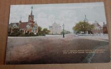 Postcard Christ Church Roman Catholic Cathedral Clacton On Sea posted 1907