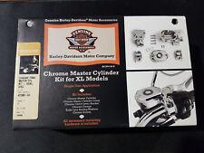 HARLEY DAVIDSON CHROME MASTER CYLINDER KIT SPORTSTER XL MODELS P/N 42308-04