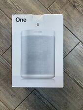 Sonos One (Gen 2) -with Amazon Alexa/Google Voice Control Smart Speaker- White