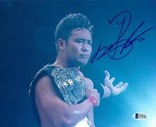 Kazuchika Okada Signed 8x10 Photo BAS COA New Japan Pro Wrestling NJPW Autograph