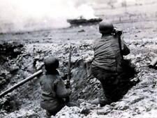 WWII Photo, Bazooka, Battle of the Bulge, WW2 World War Two US Army /  BOB044