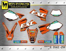 KTM EXC 450 525 2003 stickers kit graphics decals Moto Style MX