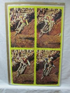 MOTO CROSS FOUR MOVIE VINTAGE POSTER GARAGE 1970'S BIKE MOTORCYCLE CNG105