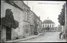 FRANCE~1919 LAIGNES (Cote-d'Or) Police Officer? with Old Motorcycle ~ CHAUSSURES
