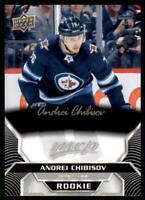 2020-21 UD MVP Silver Script - Rookies #241 Andrei Chibisov RC - Winnipeg Jets