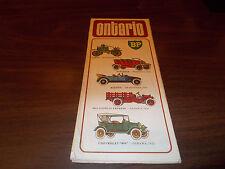1970 BP Ontario Vintage Road Map