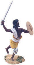 William Britains War Along the Nile Hadendoa Warrior Charging with Sword 27039