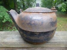 Antique A.T. Nye & Son Marietta O. 1867 Cast Iron Kettle Pot