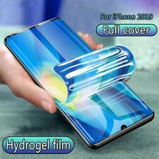 2PCS Full Cover Hydrogel Film Screen Protector Soft New For iPhone 11 Pro XS XR
