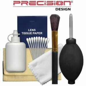 Precision Design 6-Piece Camera & Lens Cleaning Kit for Digital SLR Cameras