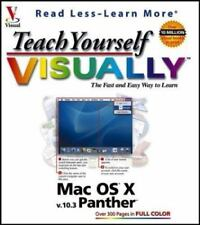 Visual Read Less, Learn More: Teach Yourself Visually Mac Os X Panther by Maran…