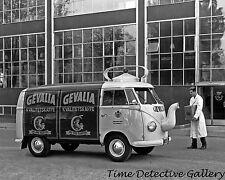 Gevalia Coffee Pot Van - 1950s - Historic Photo Print