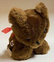 Eden Toys Windup Musical Teddy Bear Picnic Stuffed Animal Plush Toy Vintage Used