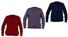 Button Woolen V Neck Long Sleeve Women's Jumpers & Cardigans