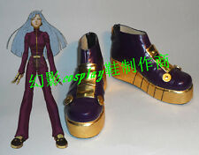 King Of Fighters Kula Diamond Halloween Girls Cosplay Shoes Boots H016