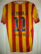 Mens Neymar JR No.11 Barcelona Away Nike Shirt Size XL
