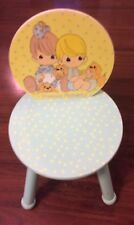 Precious Moments Child Size Wooden Chair Sturdy and Great Condition FREE SHIPPIN