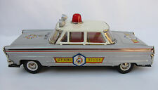 Vintage Handmade Ananiades Tin Chevrolet Greek City Police Excellent NOS Battery
