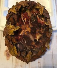 "New ListingThe Bradford Exchange, Season of the Wolf ""Glimpse of Gold"" Collectors Plate"