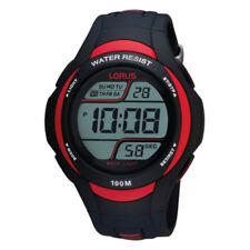 NB Lorus Gents Chronograph Resin Strap Watch  R2307EX9-LNP