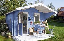Alpina Wetterschutz Lackfarbe seidenglänzend Friesenblau 2 L für Außen