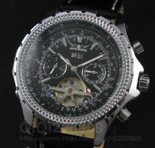 Luxury Men AUTO Automatic Mechanical MultiFunction Tourbillon Watch Calendar+Box